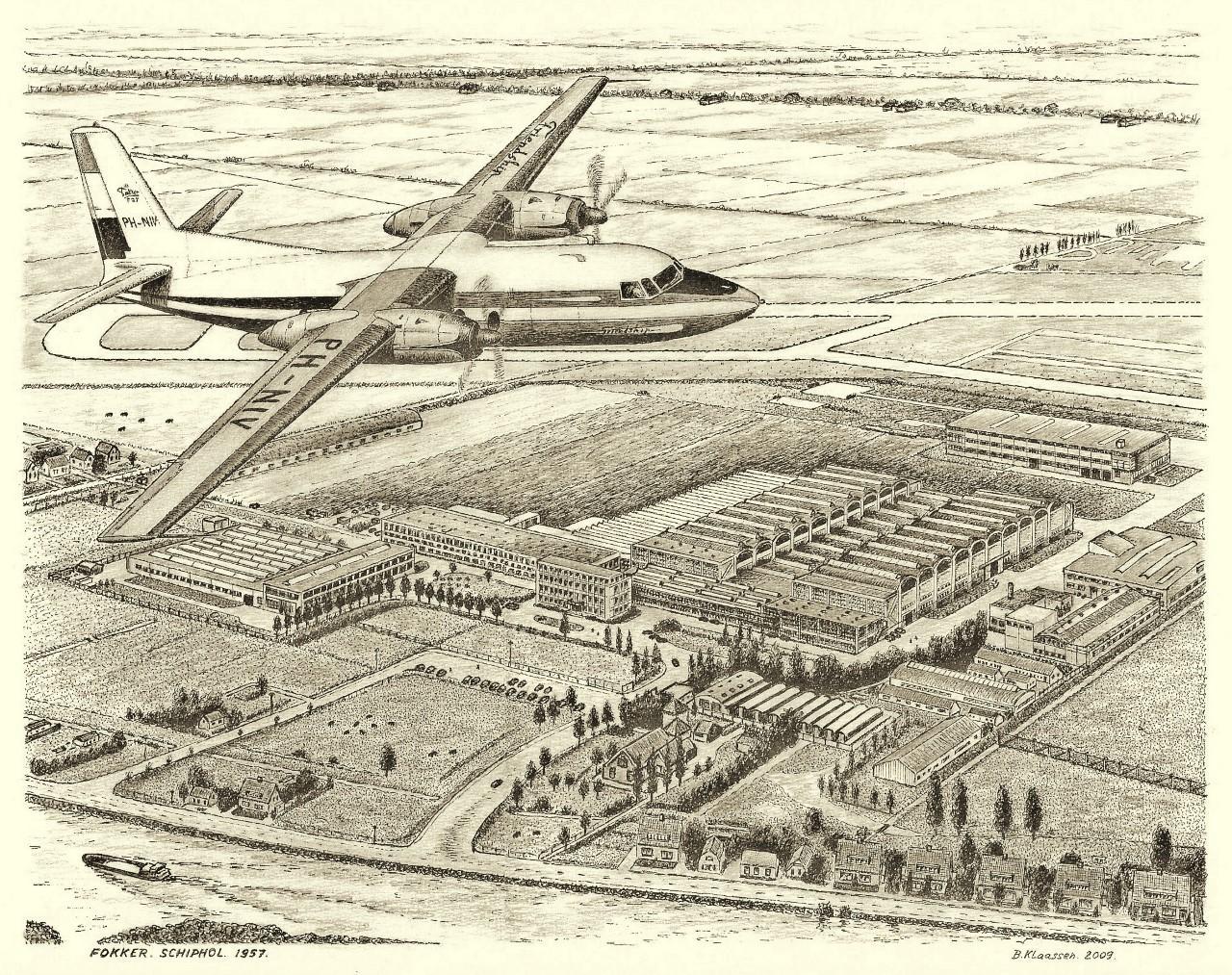 Fokker Schiphol 1957