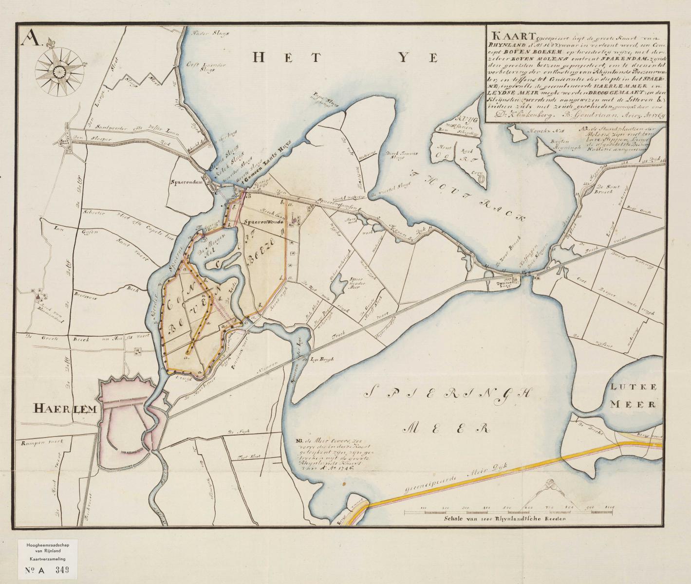 3. Goudriaan en Klinkenberg Kaart 1687