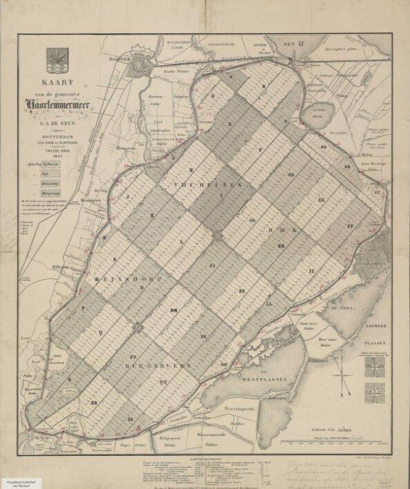 15. De Geus Verkavelingskaart 1855