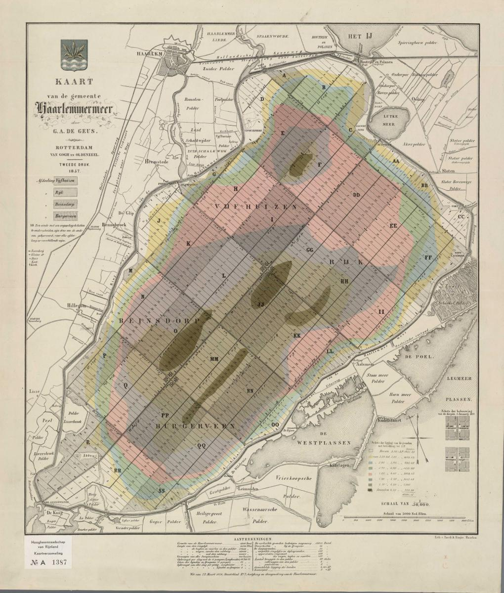 16. De Geus Amsterdamsch Peil 1857