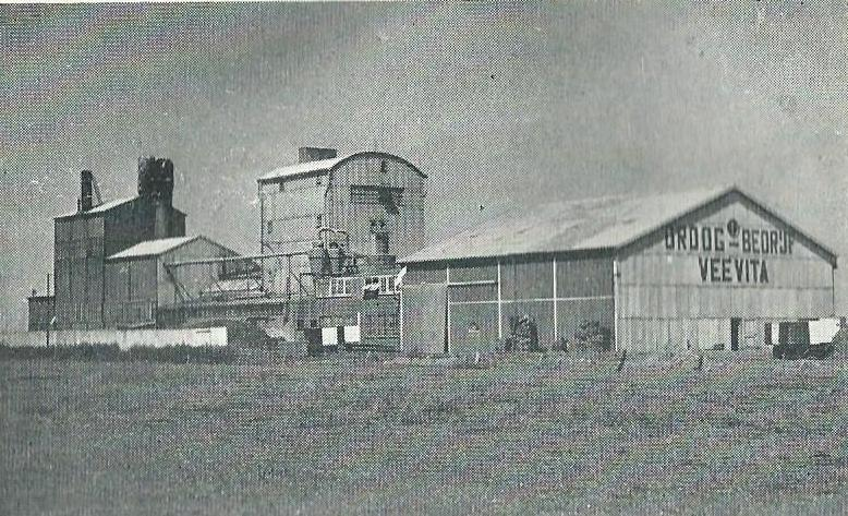 Grasdrogerij Veevita nabij Badhoevedorp