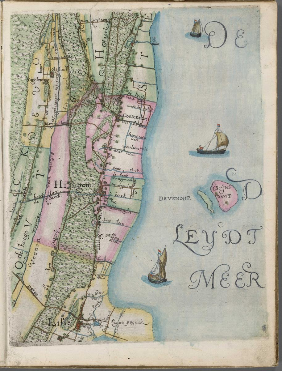 Grafiek Eiland de Vennep en Beinsdorp - Hoogheemraadschap van Rijnland