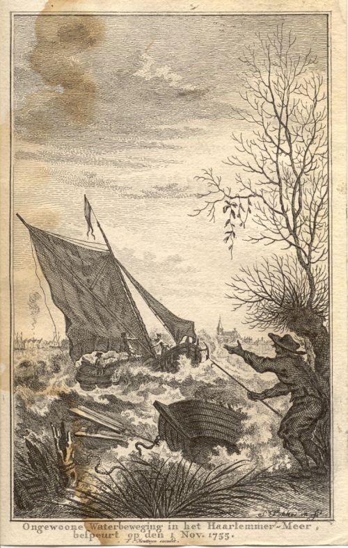 Tsunami lake Haarlemmermeer