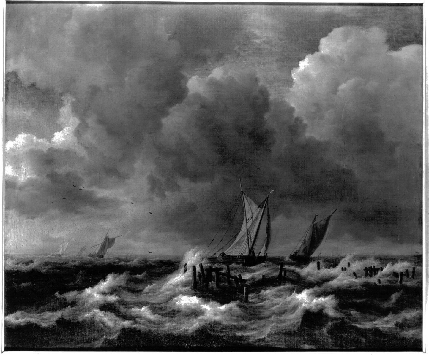 Danger lake Haarlemmermeer