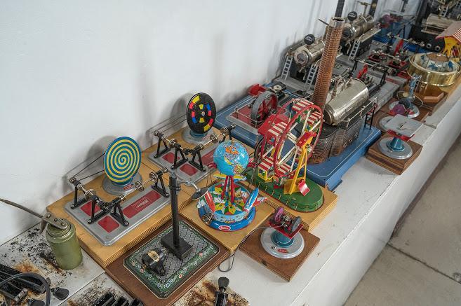Stoomlab ontmanteld, op naar stoomlab 2.0 foto Kees van der Veer