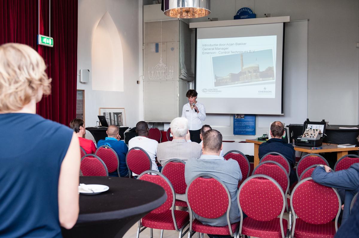Presentatie in Waterschapszaal