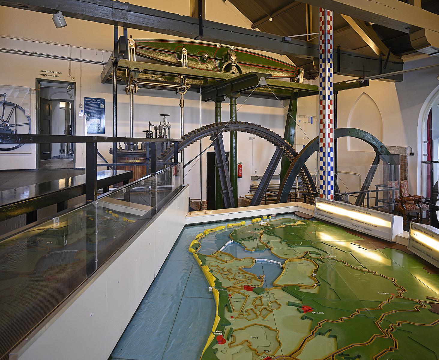 Februari 2020 Watermaquette - foto Kees van der Veer