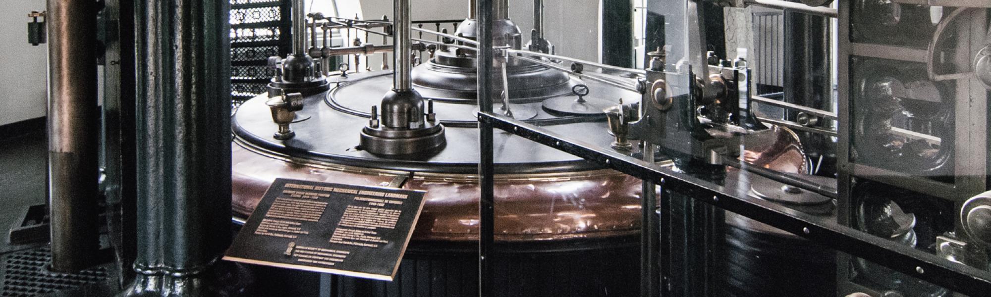 Beeld van de machinekamer van Gemaal De Cruquius