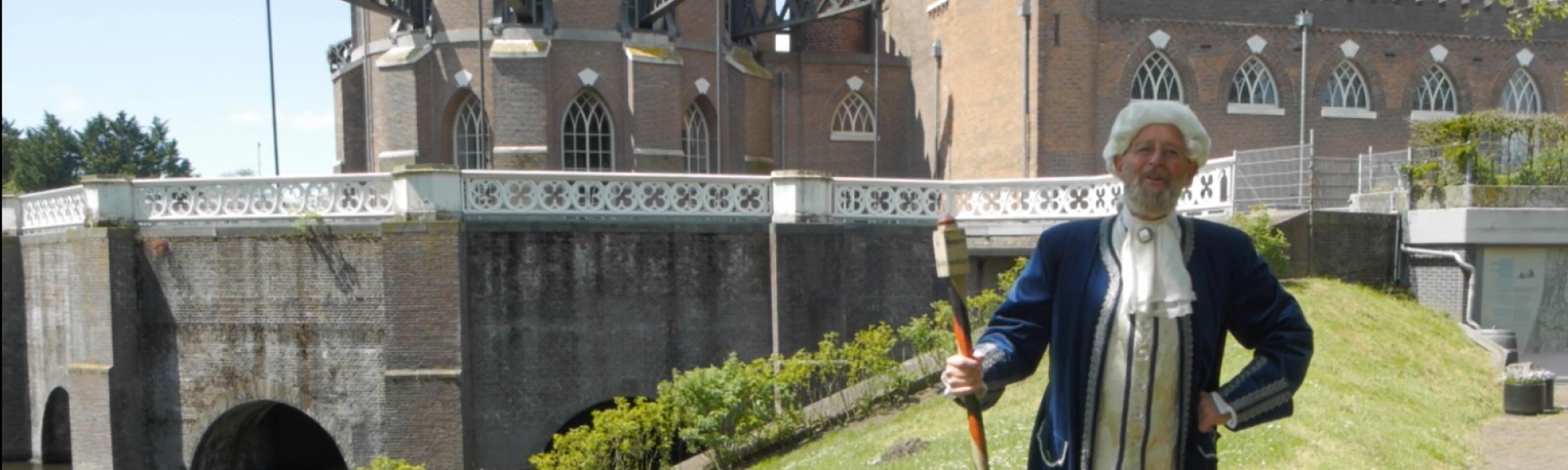 Nicolaus Cruquius in Virtuele Watertour