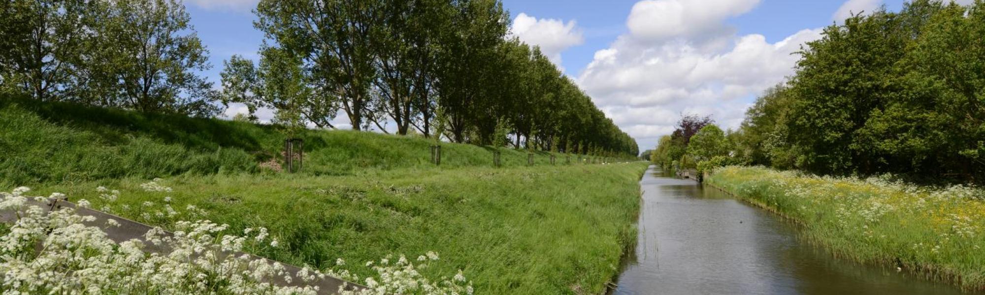 Beeld Geniedijk - foto Citymarketing Haarlemmermeer / Margo Oosterveen