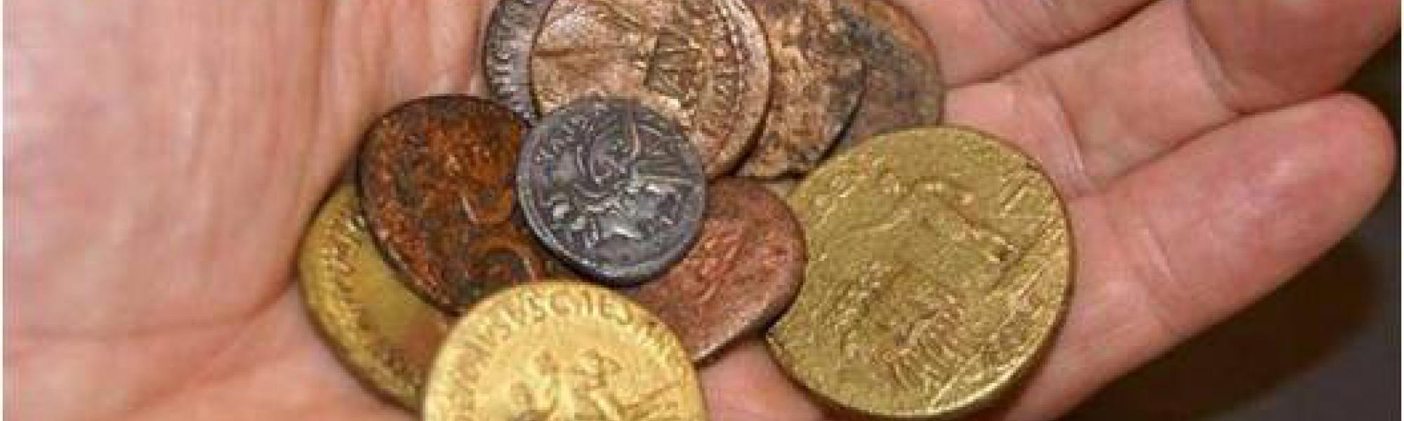 Handvol Romeinse munten