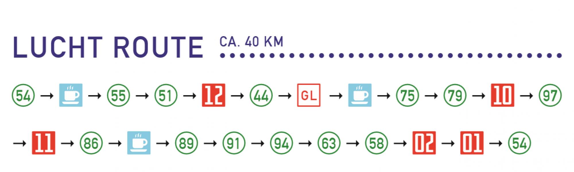 Fietsroutebeschrijving Luchtroute Haarlemmermeer