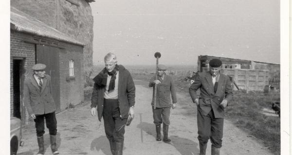 Historisch beeld van de polder
