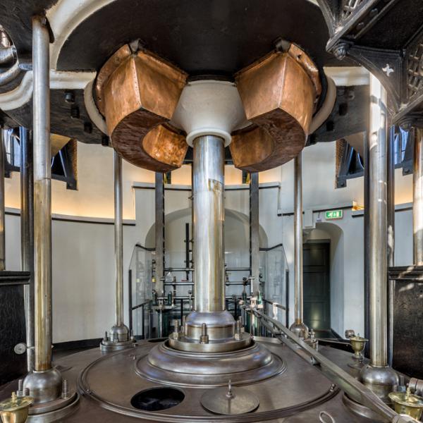 De grootste stoommachine ter wereld