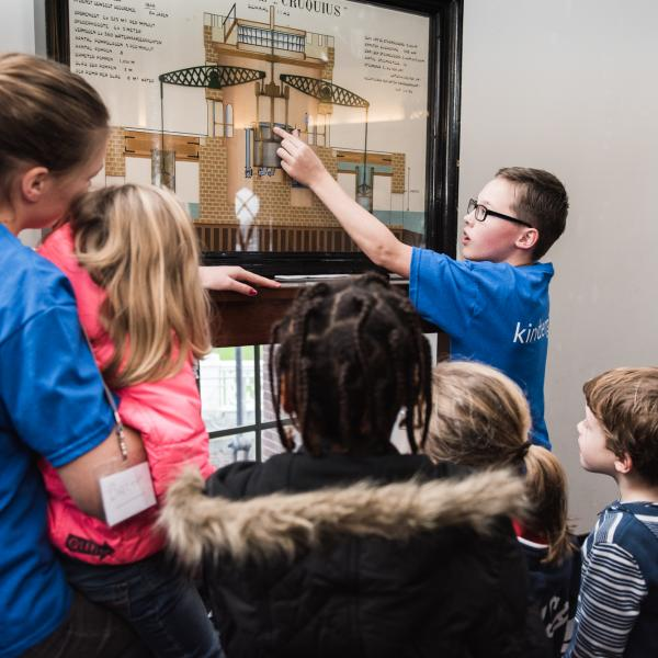 Kinderrondleiding door Museum De Cruquius